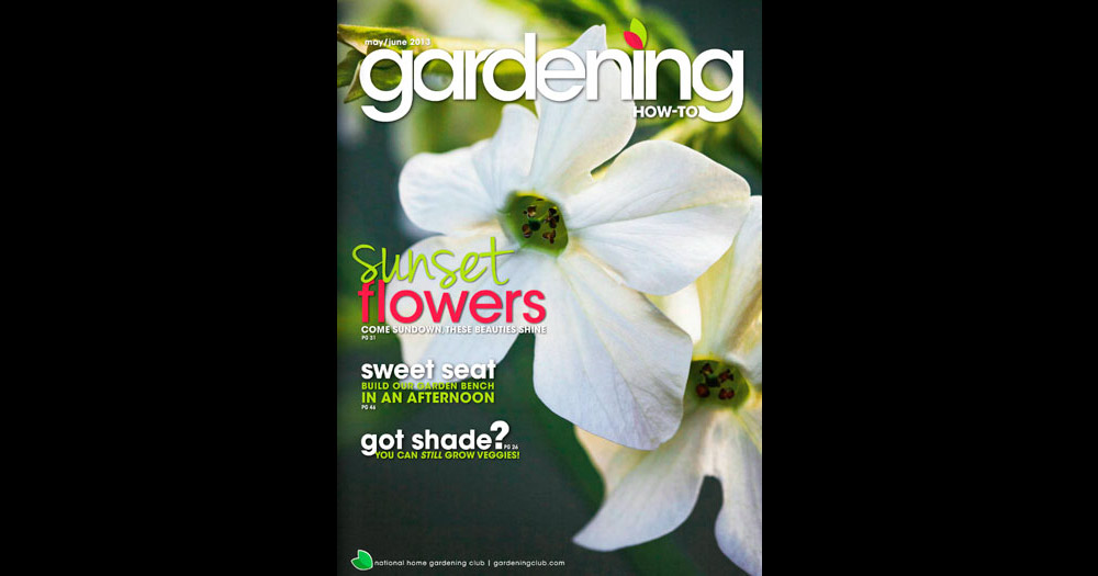Gardening How To May-June 2013 Cover